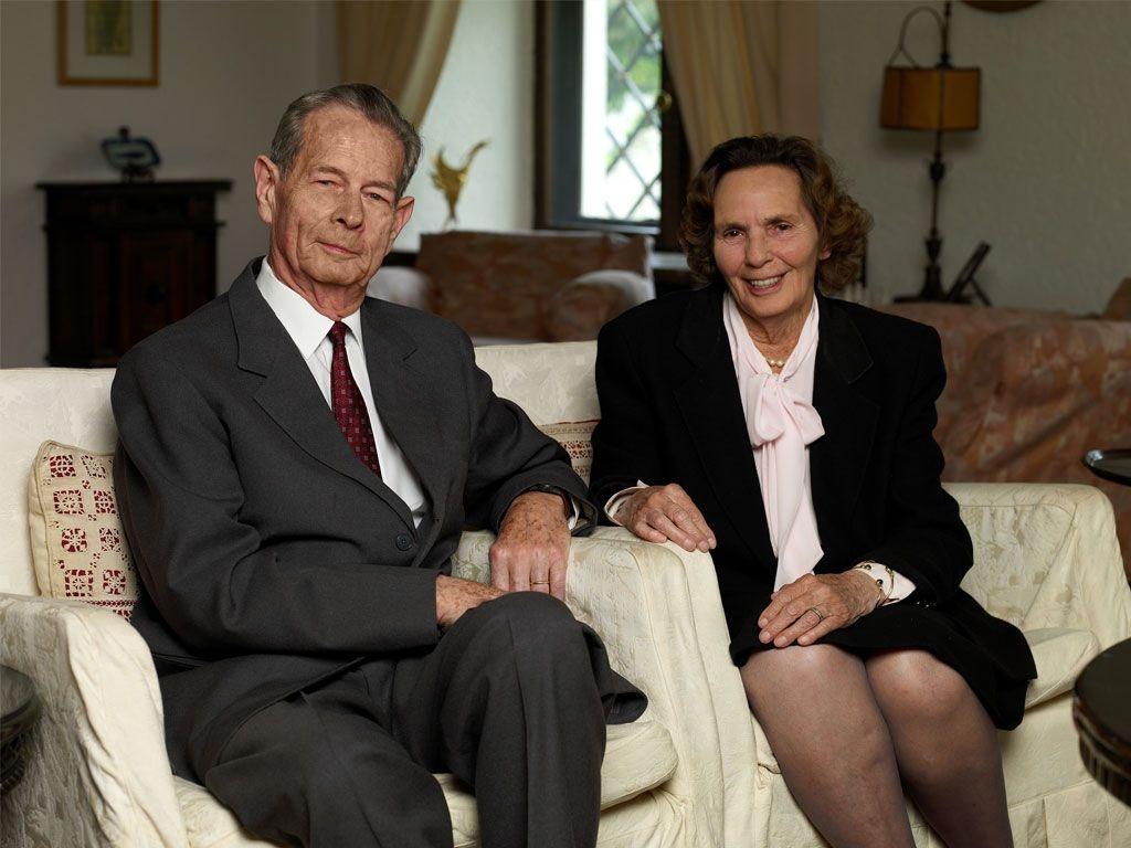 Il Re Michele e la Regina Anna di Romania