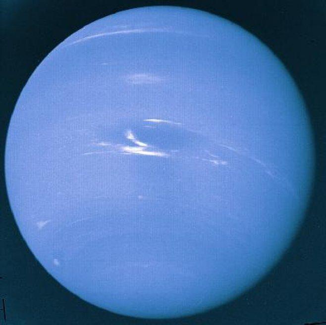 Planeta Neptun, lovit? de o comet? cu 200 de ani ?n urm? Timpul ...
