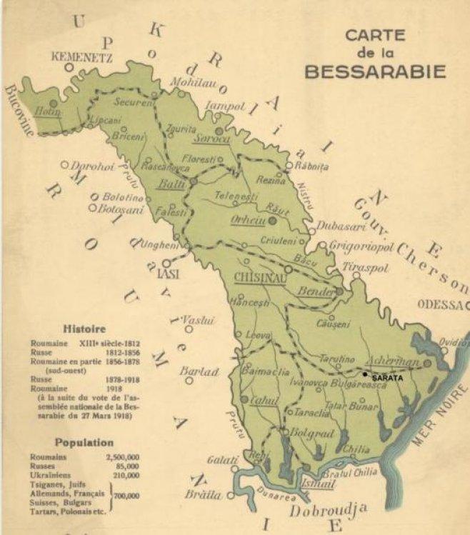 Colonizarea forţată a Basarabiei după 1812 | Istorie