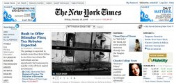 The New York Times își relansează site-ul