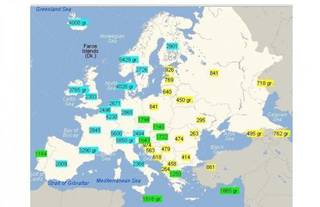 Tamas Schiffbeck Image: Lista Cu Salariile Medii Din Europa. Cel Mai Mare Este De