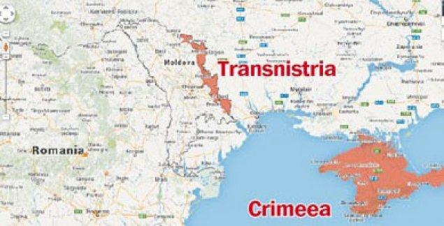 Putin anexează Crimeea. Urmează Transnistria? | CSI / Rusia