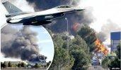 Un avion F-16 grecesc s-a prăbuşit într-o bază NATO în Spania: 10 persoane au decedat