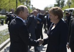 Russia is extending a gas pipeline to Germany that bypasses Ukraine