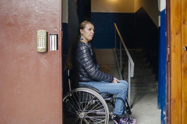 Femeie cu handicap