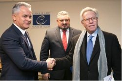 During the current visit to Strasbourg, the Moldovan political delegation led by Vlad Plahotniuc held a meeting with Gianni Buquicchio, President of the Venice Commission
