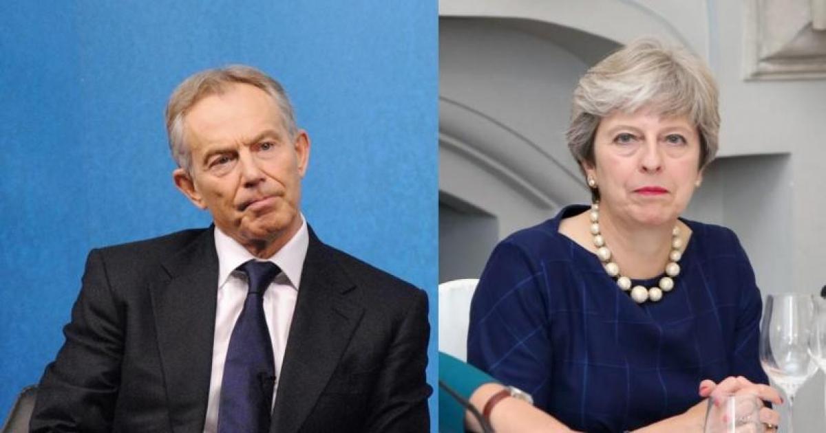 Tony Blair, agresat la un congres de un palestinian! Esti un terorist!