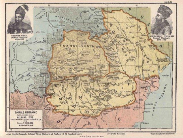 635x0 tariromane - 7 mai 1775: Bucovina este ruptă  de Austria din trupul Principatului Moldovei, în urma cedării sale de către Imperiul Otoman...