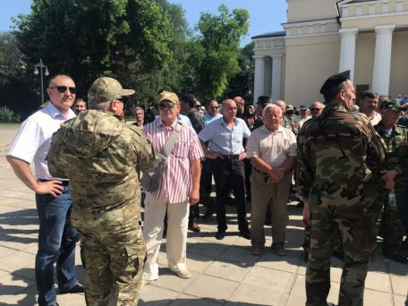 Hundreds of fighters and veterans of Moldovan power structures condemn the sale of the country by Igor Dodon