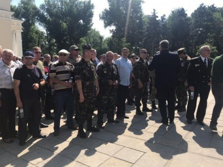 """A group of veterans from the Ministry of the Interior and the war from Nystro adopted a resolution: """"We have not accepted or accept the federalization of Moldova"""""""