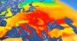 A hot wave over Romanian space. Meteorologists issued a signal for the following days /// VIDEO