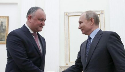 Putin not interested in fighting corruption in Moldova