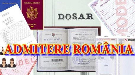 How can you submit your study files to secondary schools and colleges in Romania and why do you need it