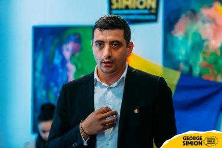 George Simion vrea să poată intra în R. Moldova / Amenință cu greva foamei dacă Guvernul Sandu va menține în vigoare interdicția impusă de Guvernul Filip