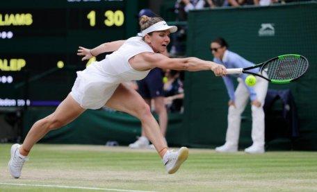 SIMONA HALEP - SERENA WILLIAMS 6-2, 6-2 // Umilință ISTORICĂ trăită de Serena: nu i se întâmplase niciodată în cele 31 de finale de Mare Șlem disputate până acum