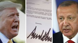 Turkey's Erdogan 'threw Trump's Syria letter in bin'