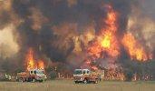 Fumul de la incendiile din Australia va face