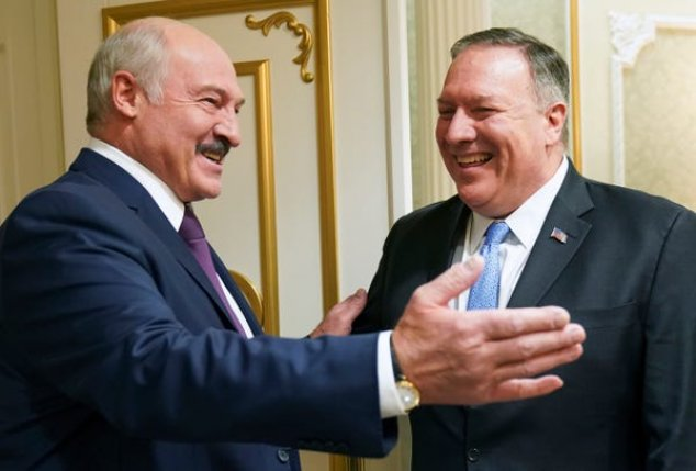 Pompeo in Belarus to push better ties, counter Russia, China