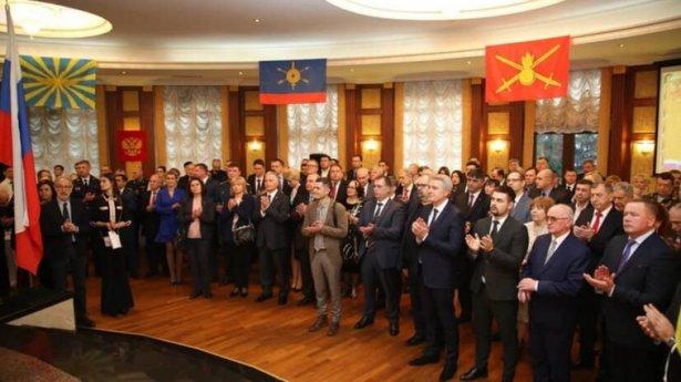 Conducere de vârf a CHEFUIT la Ambasada Rusă alături de reprezentanții regimului marionetă de la Tiraspol