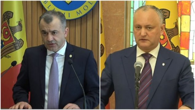 DISPERAT după PR / Dodon la 17:30 a REPETAT FIX ce-a zis Chicu la 16:00 (VIDEO)